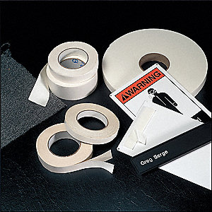 "1"" x 54 ft. Polyethylene Foam Double Sided Tape, 125 mil, 1EA"