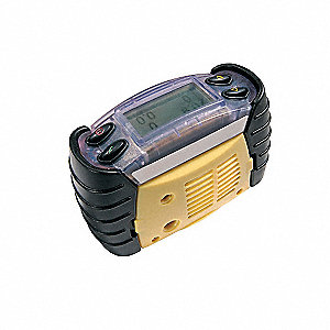 Multi-Gas Detector,3 Gas,-4 to 131F,LED