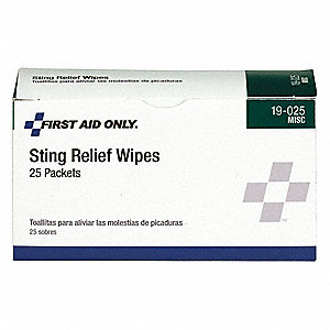Anti-Sting Wipe, 1.1g Foil Pack