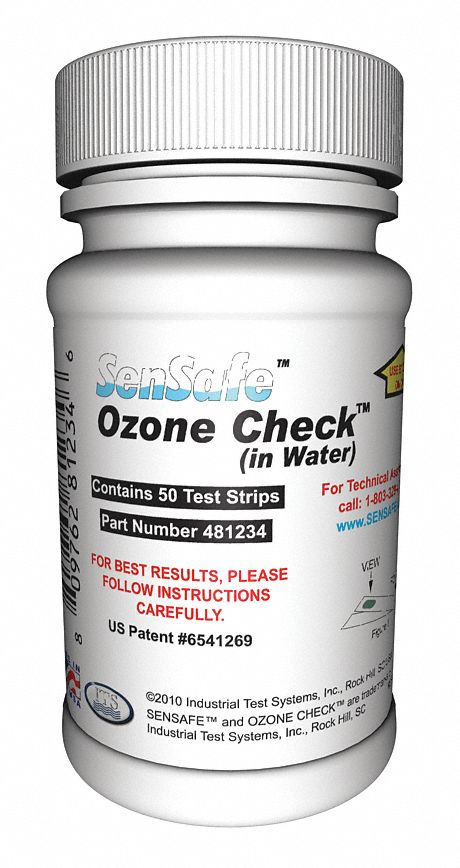 Test Strips  50 PK Testing Parameter: Ozone