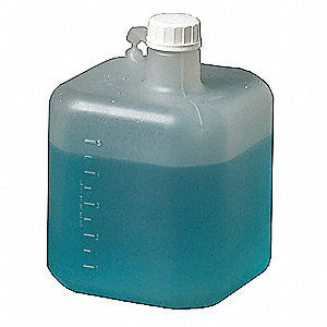 5,000mL Bottle, Wide Mouth, Polypropylene, EA 1