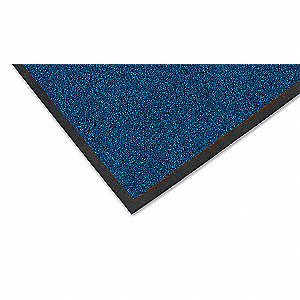 Carpeted Entrance Mat,Navy,4ft. x 6ft.