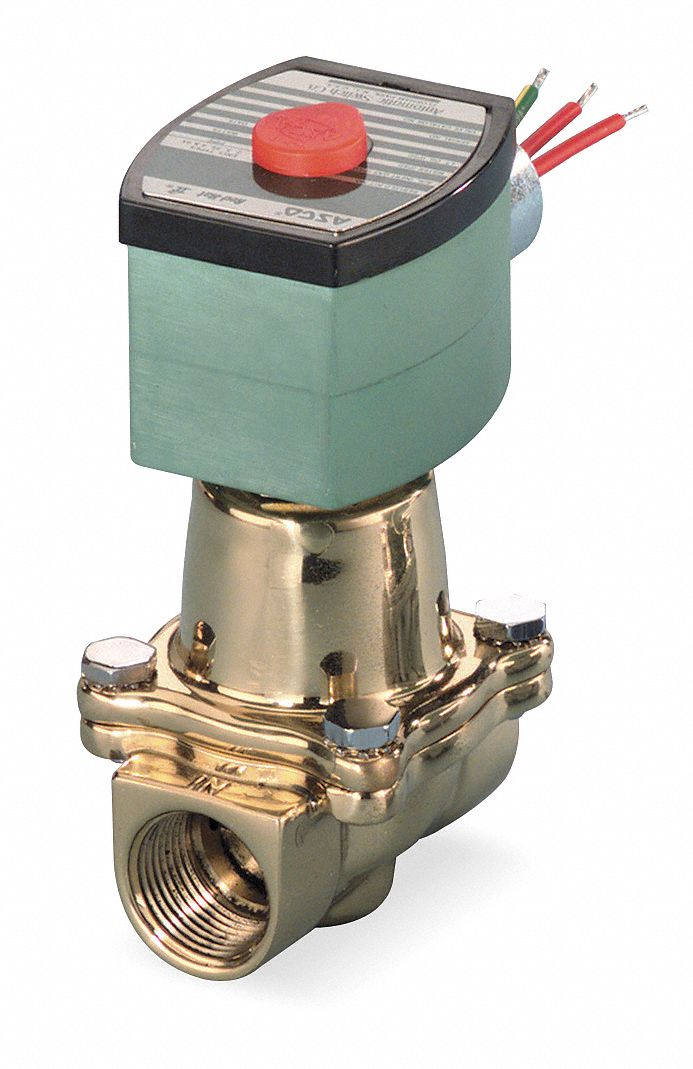 Steam And Hot Water Solenoid Valves
