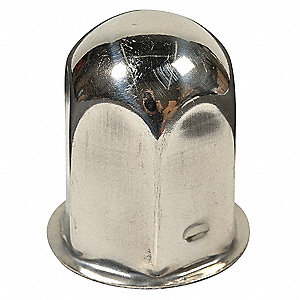 Stainless Steel Jam Nut and Lug Nut Cover