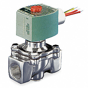 Solenoid Valve,2-Way/2-Position,NC,Air