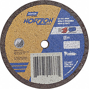 "CutOff Wheel,NorZon Plus,4""x.062""x1/4"""