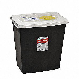 Hazardous Waste Container,18-3/4 In. H