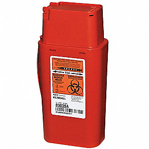 Sharps Container,1/4 Gal.,PK2