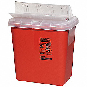 Sharps Container,2 Gal,PK5
