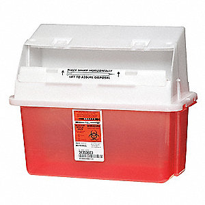 Sharps Container,1.25 Gal.,PK3