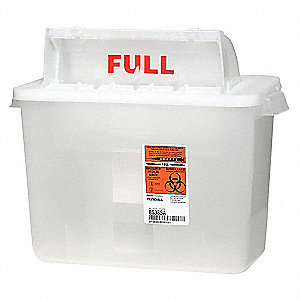 Sharps Container,2 Gal.,Sharpstar,PK2
