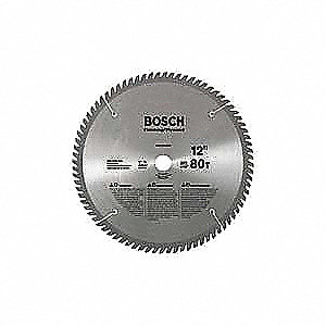 Circular Saw Bld,Crbde,12 In,80 Teeth