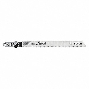 "4"" High Carbon Steel Jig Saw Blade, Shank Type: T, Package Quantity 5"