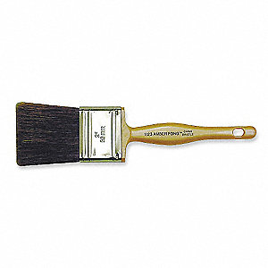 "2"" Flat Sash China Hair Paint Brush, Soft, for Oil Based"