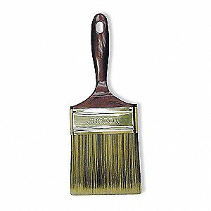 "4"" Chip Polyester/Nylon Paint Brush, Firm, for All Paint & Coatings"