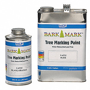 Red Tree Marking Paint, Water Base Type, 1 qt.
