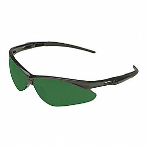 Jackson Safety V30 Nemesis Scratch-Resistant Safety Glasses, Shade 5.0 Lens Color