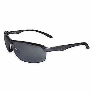 Patrol - LE100 Anti-Fog Safety Glasses, Gray Lens Color