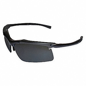 Patrol - LE200 Anti-Fog Safety Glasses, Gray Lens Color