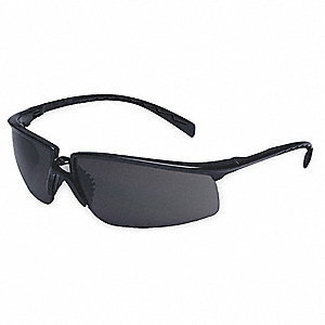 Patrol - LE300 Anti-Fog Safety Glasses, Gray Lens Color