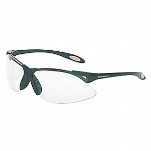 A900 Scratch-Resistant Safety Glasses, Clear Lens Color