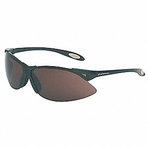 A900 Scratch-Resistant Safety Glasses, TSR Gray Lens Color