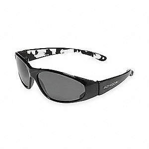 Traffic-Signal Safe IR Scratch-Resistant Infrared Safety Glasses, Neutral Gray Lens Color