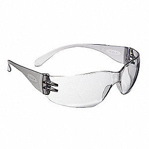 Safety Glasses,Anti-Fog,Gray,Frameless