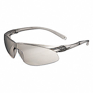 Virtua™ Scratch-Resistant Safety Glasses, Gray Lens Color