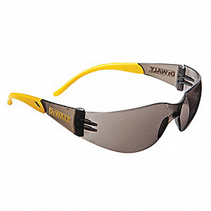 Protector  Scratch-Resistant Safety Glasses, Smoke Lens Color