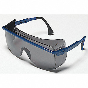 Astrospec® OTG 3001 Scratch-Resistant Safety Glasses, Gray Lens Color