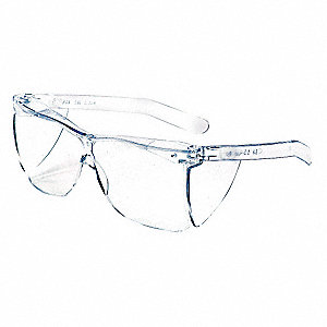 Guest-Gard® Uncoated Safety Glasses, Clear Lens Color
