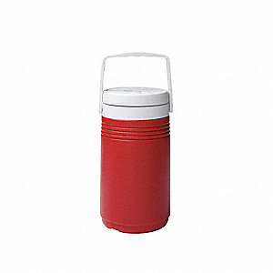 0.5 gal. Red Beverage Cooler