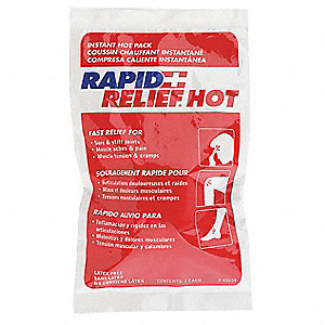 "9"" x 5"" White Instant Hot Pack, 1EA"