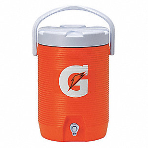 Plastic 3.0 gal. Beverage Dispenser, Orange