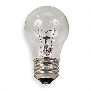 Incandescent Light Bulb,G16.5,60W,PK2
