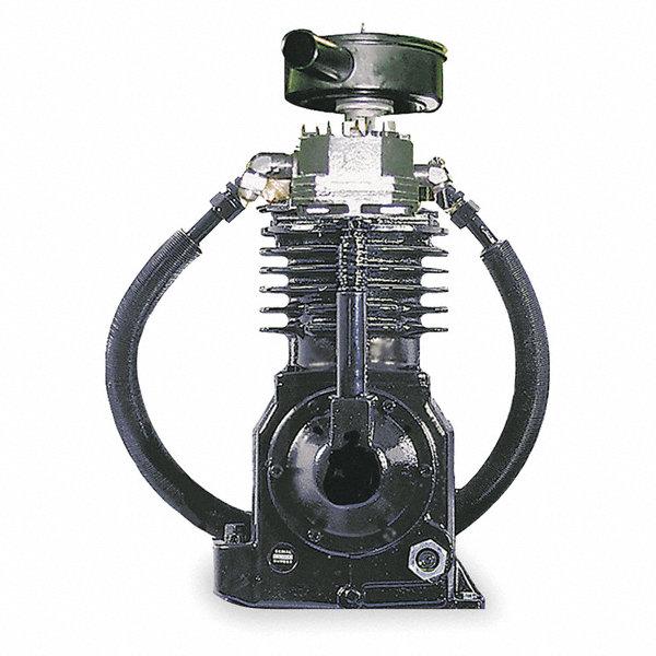 Speedaire 2 stage splash lubricated air compressor pump for Dayton air compressor motor