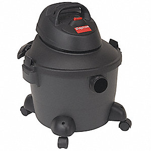 6 gal. Contractor Wet/Dry Vacuum, 3.5 Peak HP, 120 Voltage