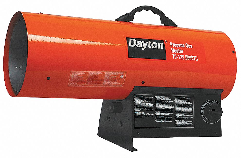 Dayton Natural Gas Torpedo Heater