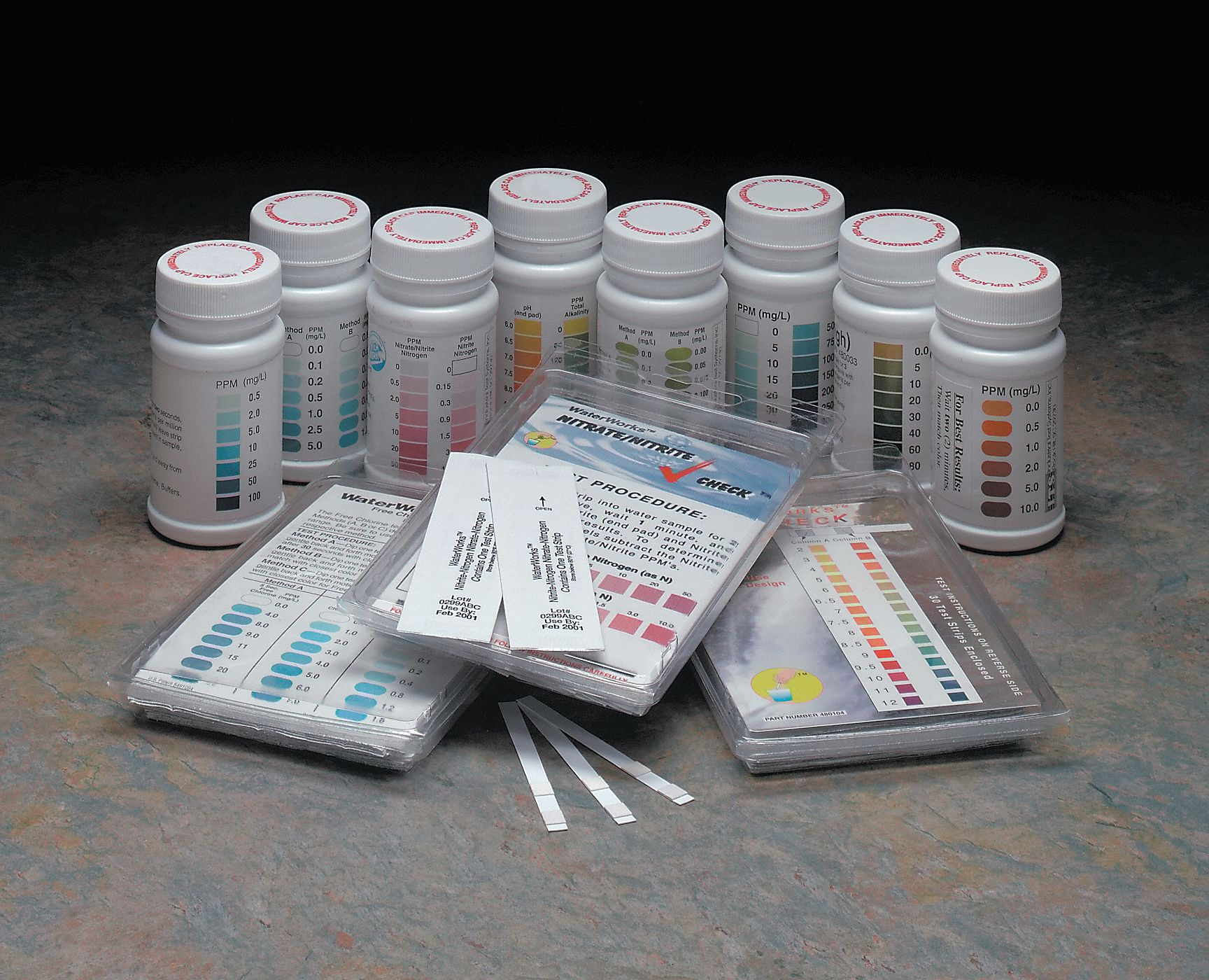 Test Strips  50 PK Testing Parameter: Peroxide