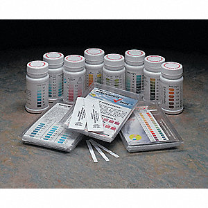 Test Strips,Iodine,0-5ppm,PK50