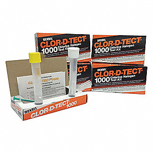 Screening Test Kit  10 PK Range: Positive/Negative for More/Less 1000 ppm