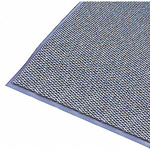 Carpeted Entrance Mat,Blue,4ft. x 6ft.