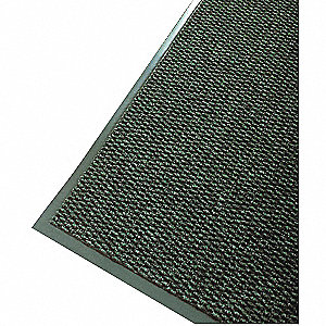 Carpeted Entrance Mat,Green,4ft. x 6ft.