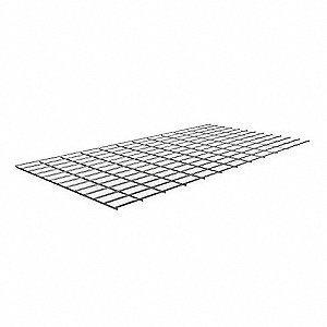 WIRE DECKING,48 IN. W,24 IN. D