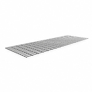 WIRE DECKING,72 IN. W,24 IN. D