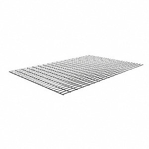 "72"" x 48"" Wire Mesh Decking with 500 lb. Load Capacity"