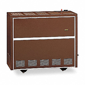 "Convection Gas Heater, LP, BtuH Output 35,000, 4"" Vent, Width 30"", Height 26"", Depth 19-1/4"""
