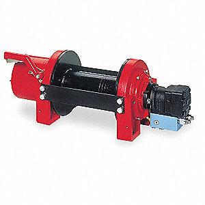 Hydraulic Winch,15,000 lb,1/2 In,15 gpm