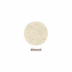 PVC Screw Cap, Almond&#x3b; PK52